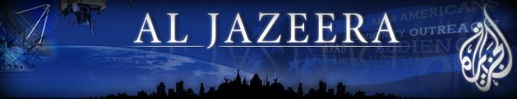 Banner aljazeera